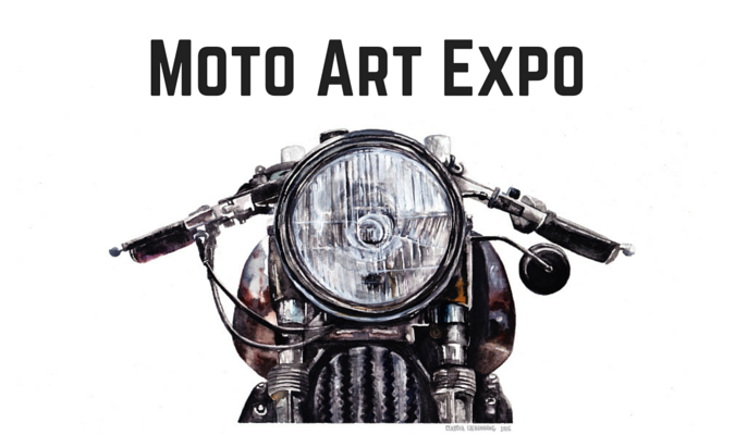 moto art. moto art expo to feature claudia liedenberg r